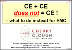 CE + CE does not = CE - what to do instead for EMC image #1