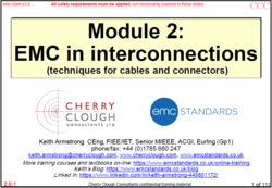 2 - EMC in Interconnections - Updated for Jan 2021 image #1