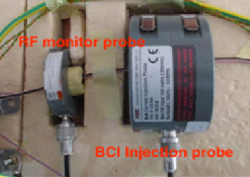 A Capacitively Coupled Pin Injection Method - An Alternative Immunity Test to BCI