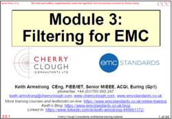 3 - Filtering for EMC image #1