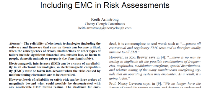 Including EMC in Risk Assessments image #1
