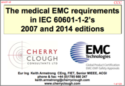 Medical EMC requirements