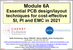 6a - Essential PCB design techniques for cost-effective SI, PI, EMC in 2021 image #1