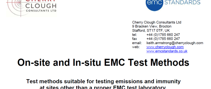 On-site and In-situ EMC test methods image #1