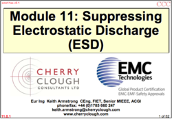 Suppressing electrostatic devices