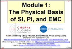 1. The Physical Basis of SI, PI and EMC image #1